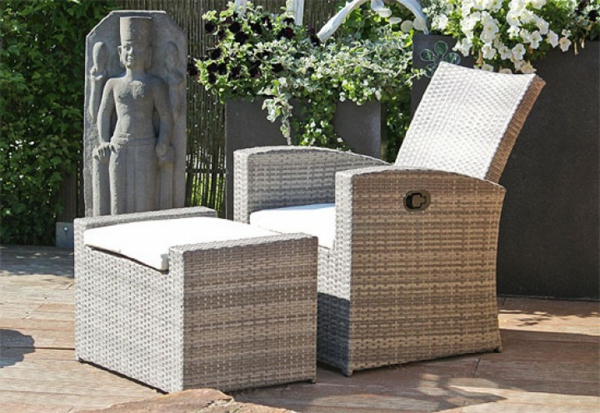 emejing outdoor sessel polyrattan ideas. Black Bedroom Furniture Sets. Home Design Ideas