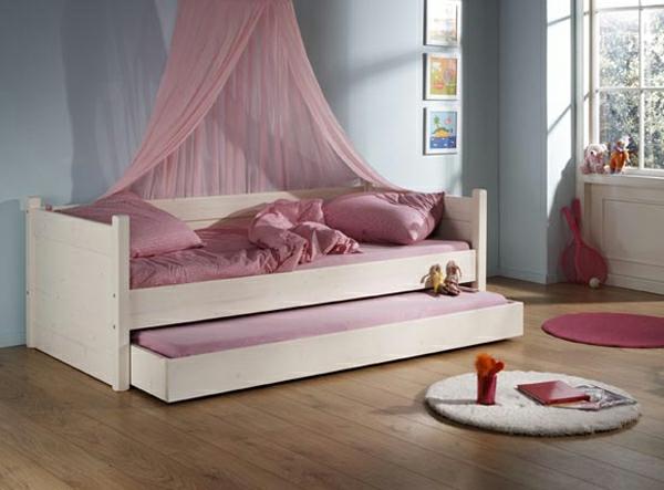 Mädchenzimmer-Gestaltung-Sofabett-Design-Idee