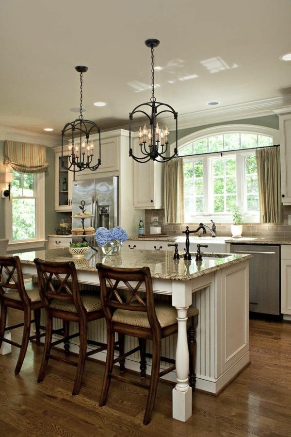 Marmor-Küchenbar-Küchengestaltungsideen