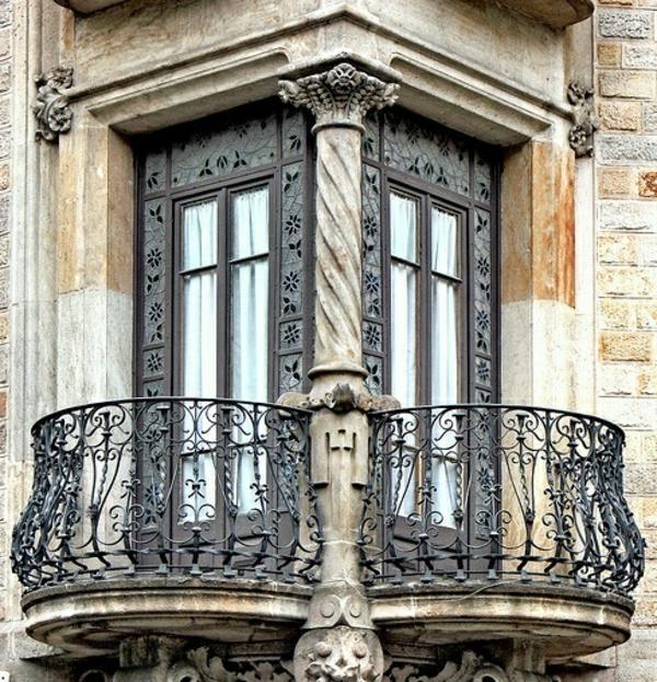 Metall-Balkongeländer-Exterior-Design