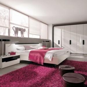 Teppich in Rosa - eine schöne Farbe für den Boden!