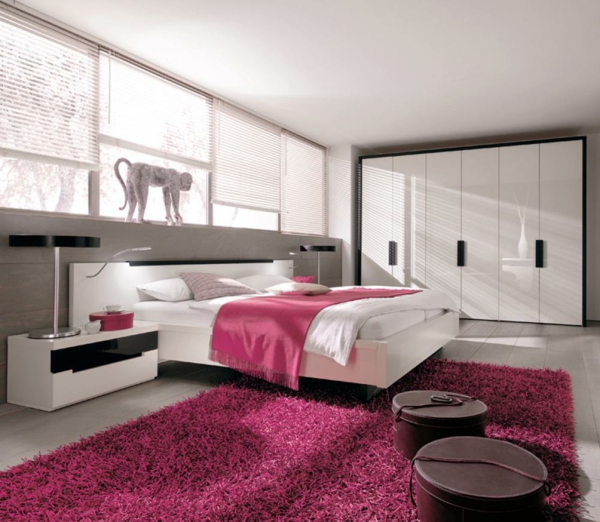 rosa teppich fur kinderzimmer interieurs inspiration. Black Bedroom Furniture Sets. Home Design Ideas