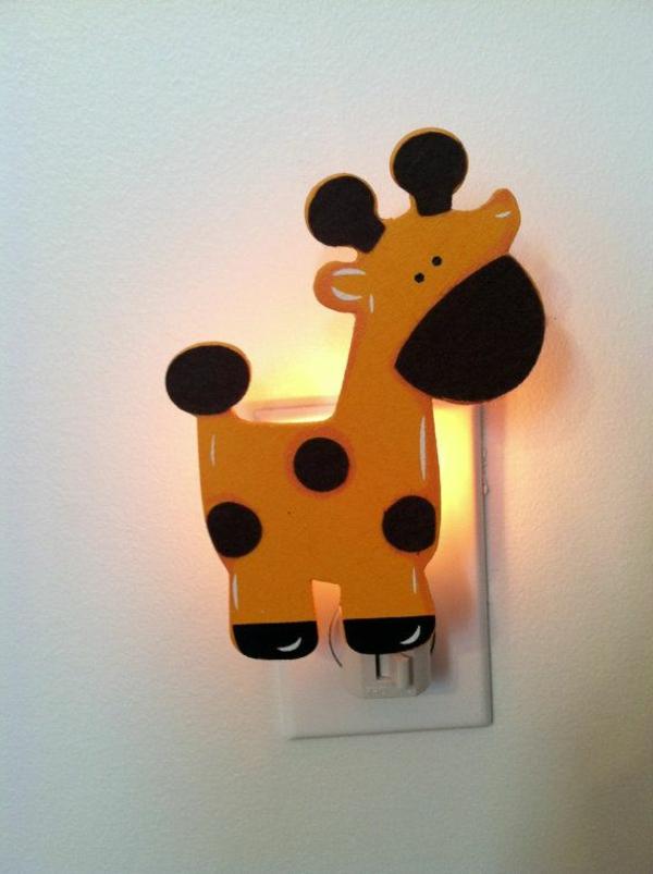 Nachtlampe-für-Kinderzimmer-Giraffe-idee