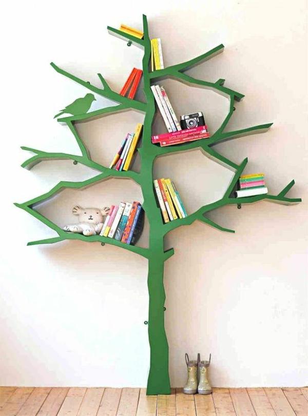 Regal-für-Bücher-wie-einen-Baum