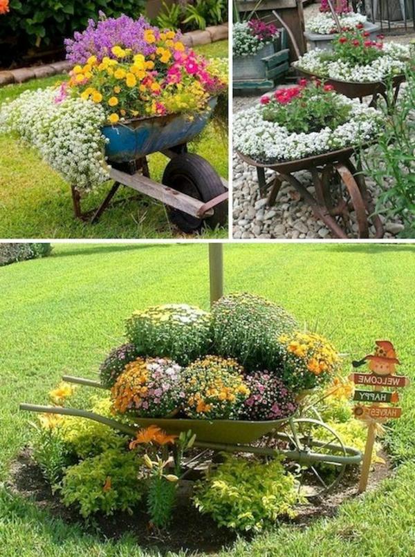 Schubkarren-in-einen-Blumentopf-verwandeln