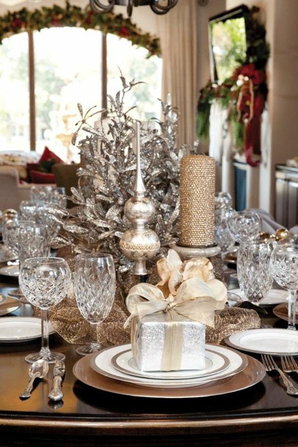 Silvester tischdeko f r einen zauberhaften abend - Silvester dekoration ...