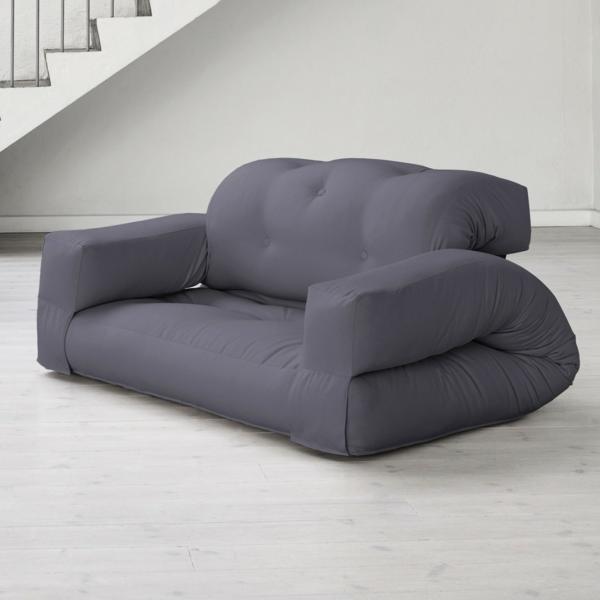 Sofa-Bett-Hippo-Grau