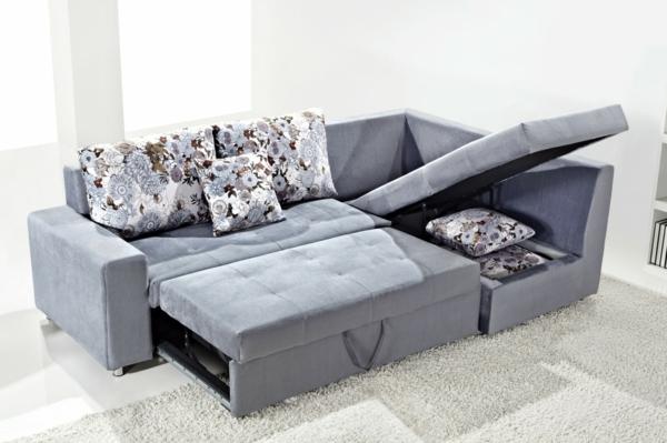 -Sofa-Bett-graue-Farbe