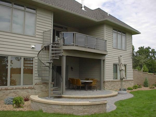 Spindeltreppe-tolles-Design-Architekturidee