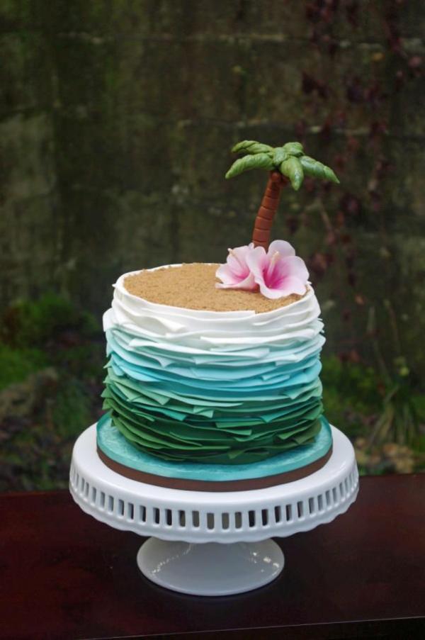 Starnd-Sommer-Torte-Idee