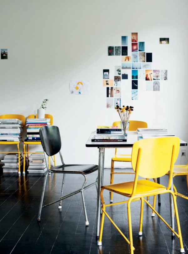 Stuhl-in-gelber-Farbe-Idee