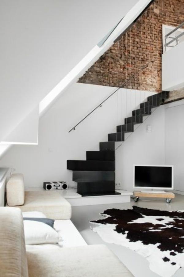 Teppich-Weiß-und-Schwarz-