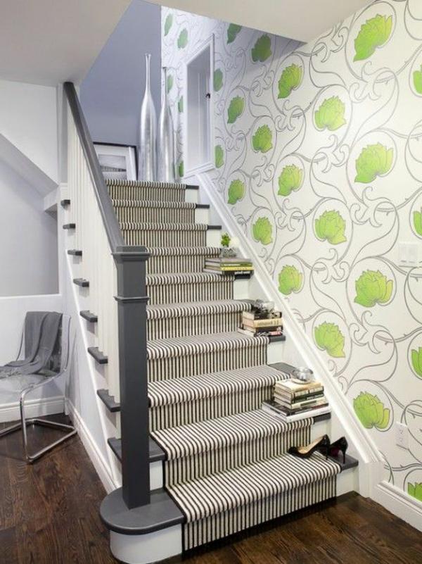 Teppich auf treppe reinigen: spannung aufh?ngen teppich ...