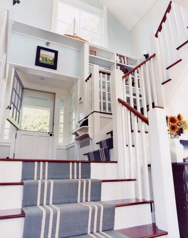 Teppich-für-Treppen-Taubenblau