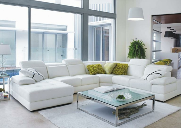 kuhfell wohnzimmer modern