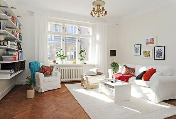 Teppich-in-Weiß-im-Wohnzimmer-