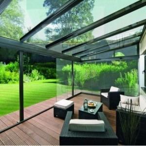 Effektvolle Ideen für eine Überdachung aus Glas