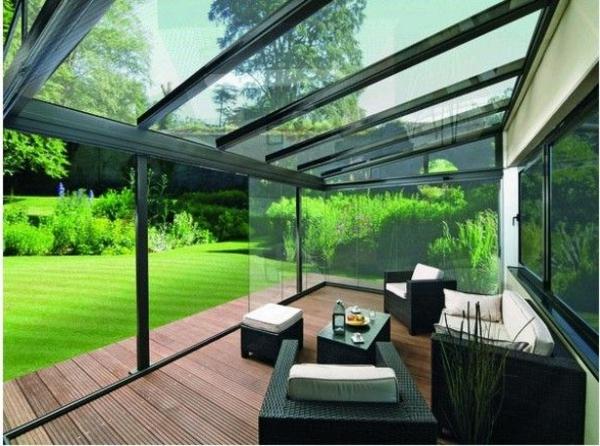 Enclosed Glass Veranda