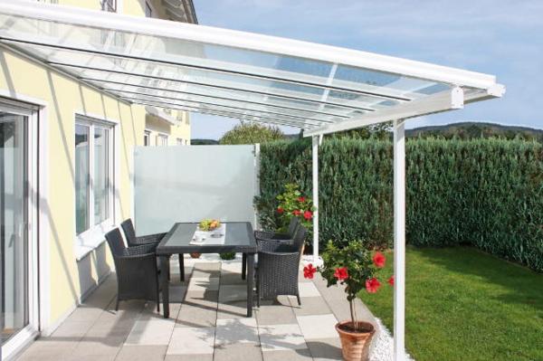 Glas Fur Terrassenuberdachung ~ Effektvolle ideen für eine Überdachung aus glas archzine