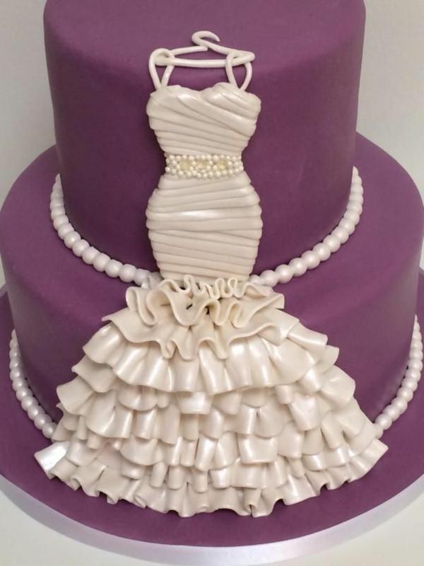 Torte-mit-Hochzeitskleid-Ideen
