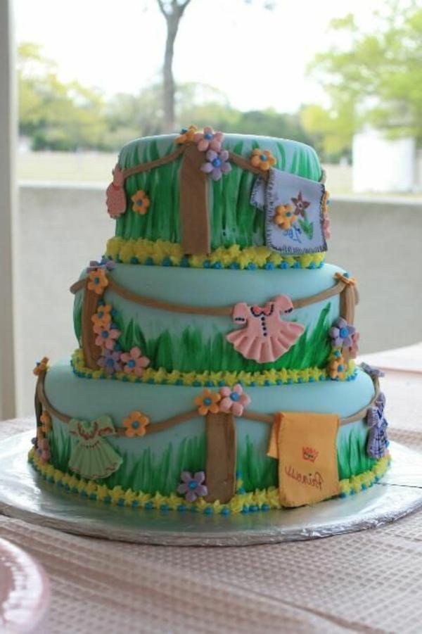 Torten-Dekoration-Ideen-Kinderparty