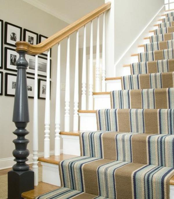 teppich für treppen - fantastische vorschläge! - archzine.net - Teppich Ideen