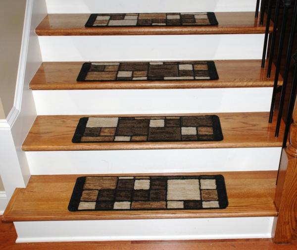 Treppenstufen-Teppiche-Design-Idee