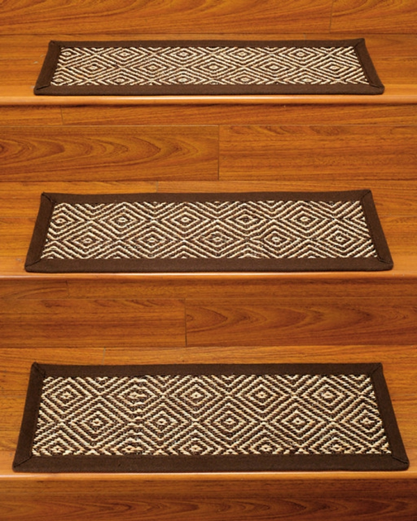 tolle ideen f r stufenmatten f r ihre treppen. Black Bedroom Furniture Sets. Home Design Ideas