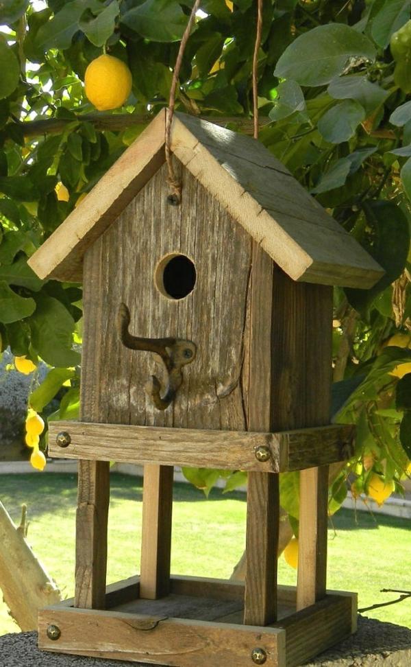 Vogel-Häuser-Design-Holz-Idee