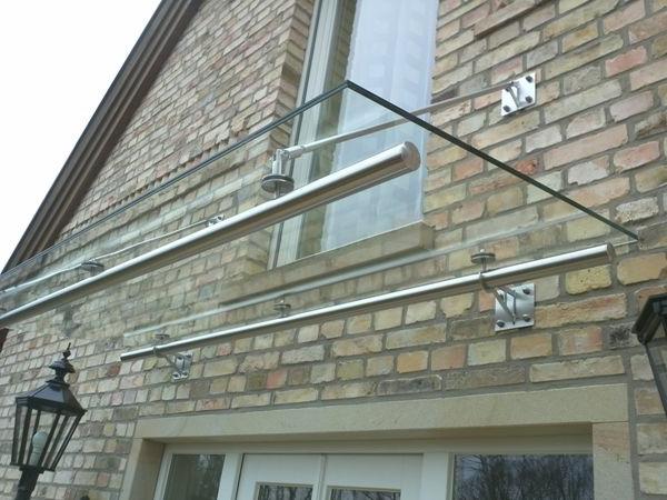 Vordach-Glas-Eingangstür-Idee