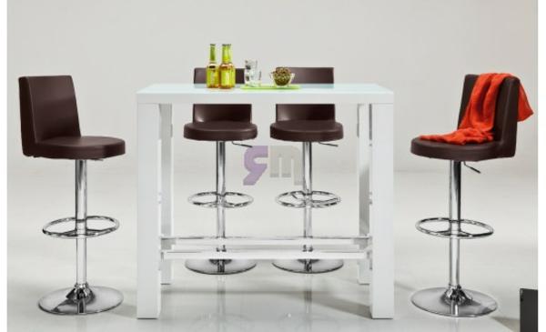 Weiße-Farbe-Bartisch-Design-Idee-Interior