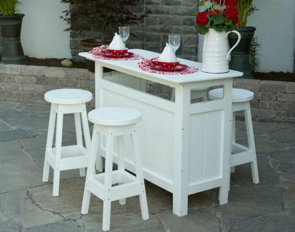 Weiße-Farbe-Bartisch-Design-Idee