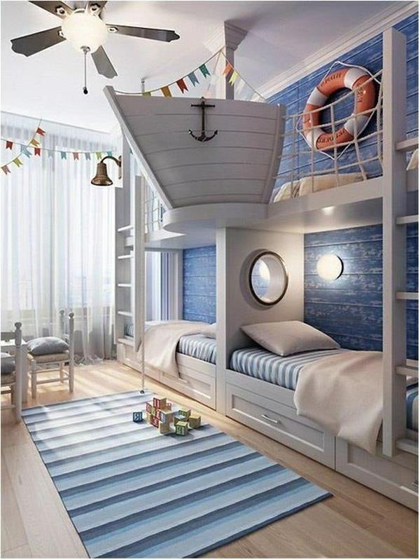 Hochwertig Wohnidee Kinderzimmer Design Maritime Moderne ...