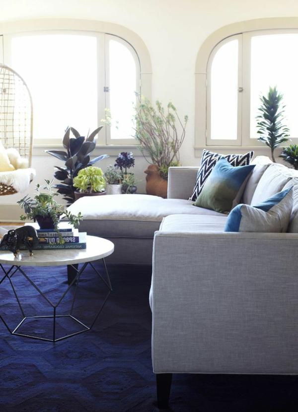 Super schöne blaue Teppiche! - Archzine.net