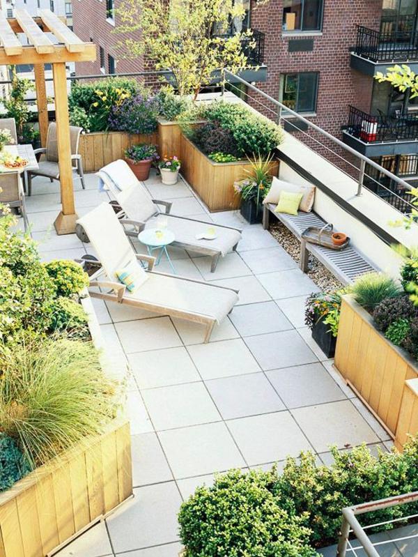 terrassengarten wundersch ne gestaltungsideen. Black Bedroom Furniture Sets. Home Design Ideas