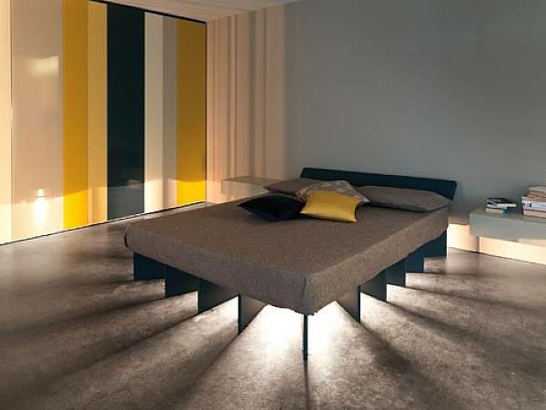 Indirekte Beleuchtung im Schlafzimmer - schöne Ideen!