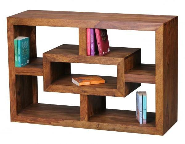 b cherregal aus massivholz f r ein gem tliches ambiente. Black Bedroom Furniture Sets. Home Design Ideas