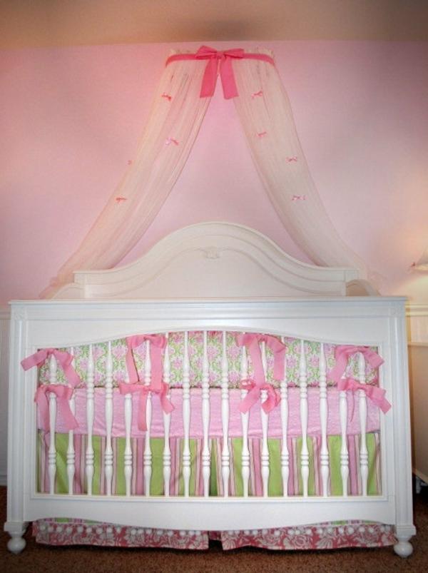 Baldachin bett im babyzimmer 27 geniale ideen - Baldachin fur babybett ...