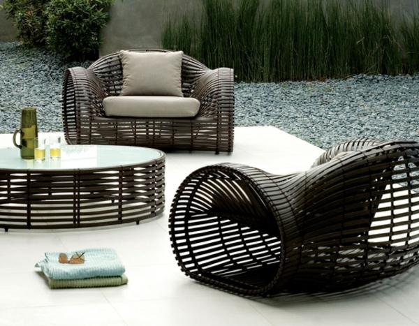 lounge sessel rund garten. Black Bedroom Furniture Sets. Home Design Ideas