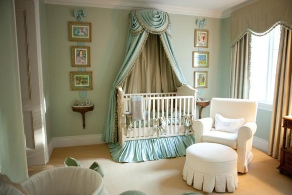 betthimmel-für-kinder - im babyzimmer