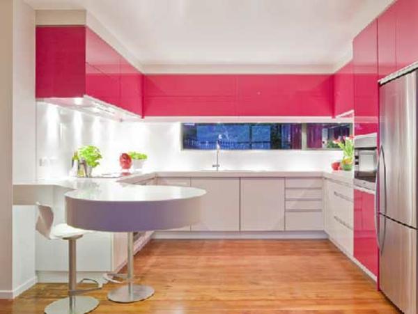 effektvolle k chengestaltung mit farbe. Black Bedroom Furniture Sets. Home Design Ideas