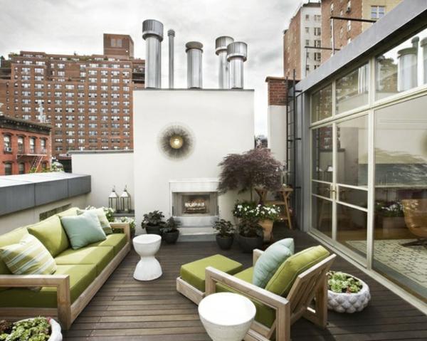 Moderne Dachterrasse Gestalten ? Ein Grüner Zufluchtsort Mitten In ... Moderne Dachterrasse Gestalten Ein Gruner Zufluchtsort Grosstadt