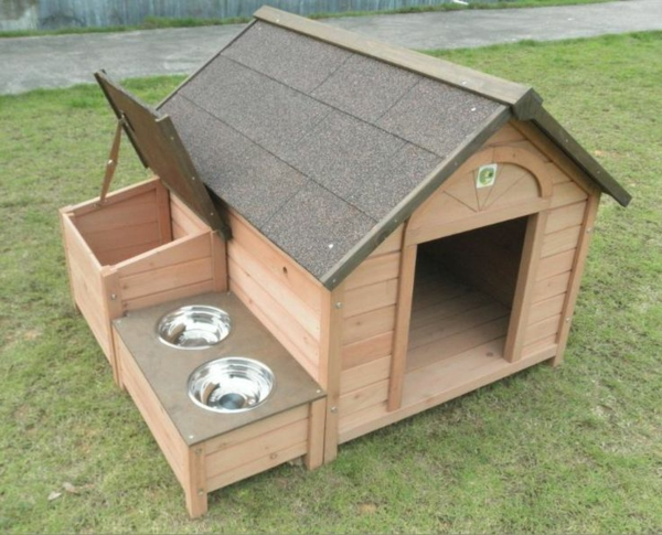 hölzerne-Hundehütte-zum-Selbermachen