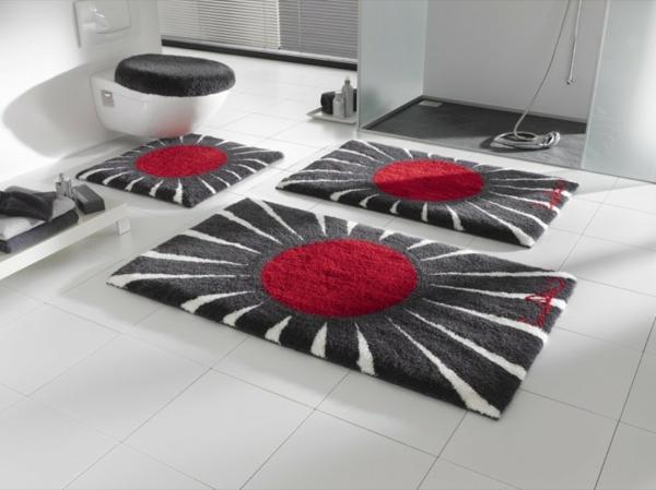 badematte f s das badezimmer tolle beispiele. Black Bedroom Furniture Sets. Home Design Ideas