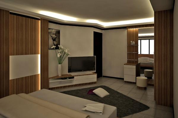 indirekte beleuchtung im schlafzimmer - schöne ideen! - archzine,