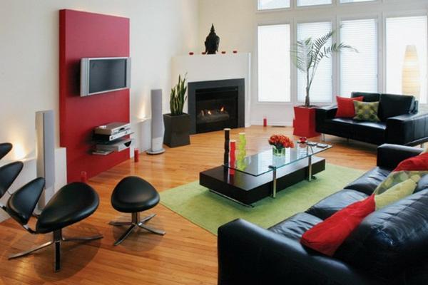 cooler-Teppich-in-grüner-Farbe-Design