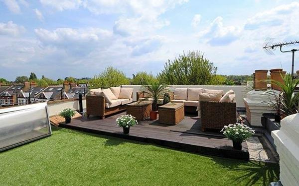 Eine dachterrasse gestalten neue fantastische ideen for Terrasse gunstig gestalten