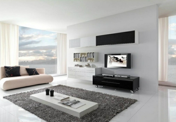 design : modernes wohnzimmer weiß ~ inspirierende bilder von ...