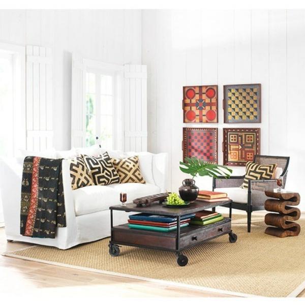 Couchtisch auf rollen 41 coole designs for Rolltisch wohnzimmer