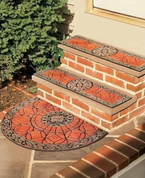 dekorativen-Treppenstufenmatten-für-Außentreppen